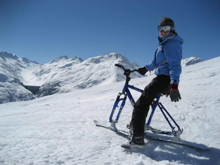 Зимовий велосипед
